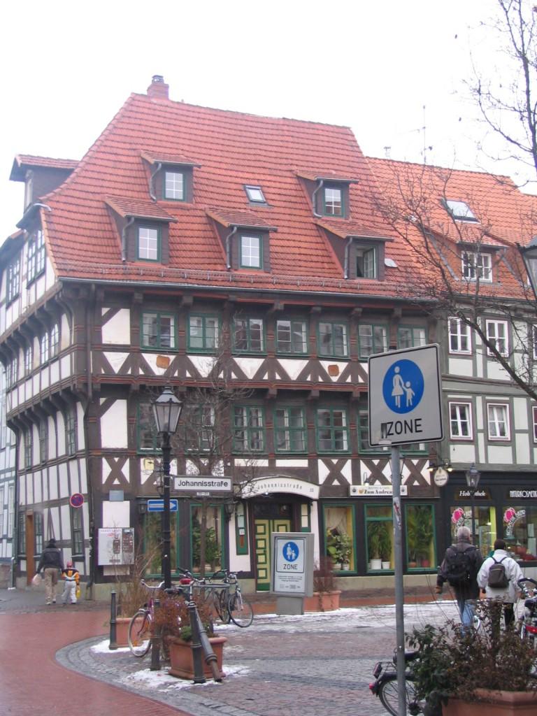 piazza in Gottingen