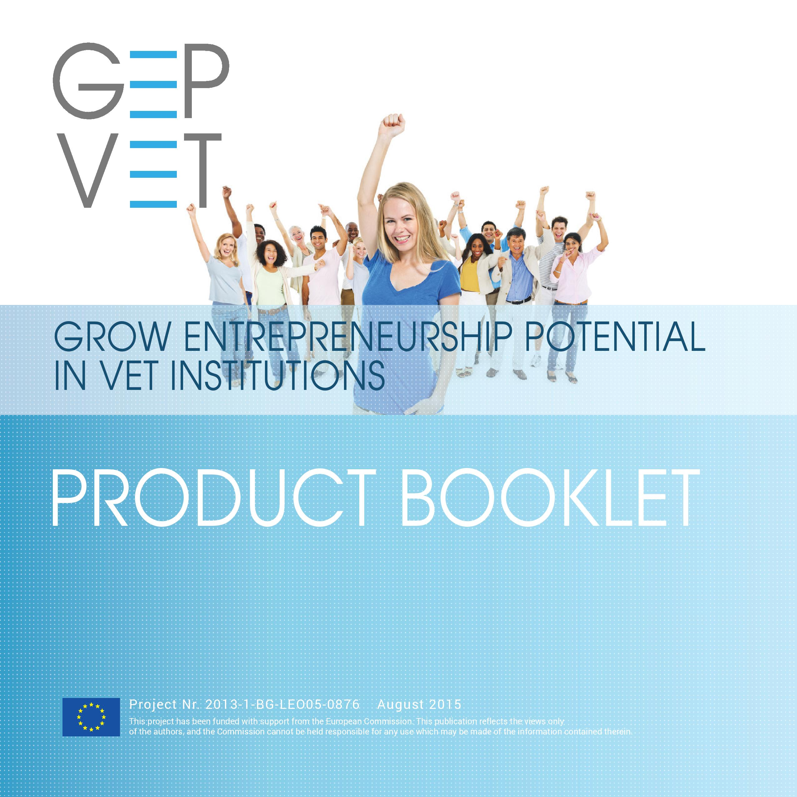 GEPVET Product Booklet
