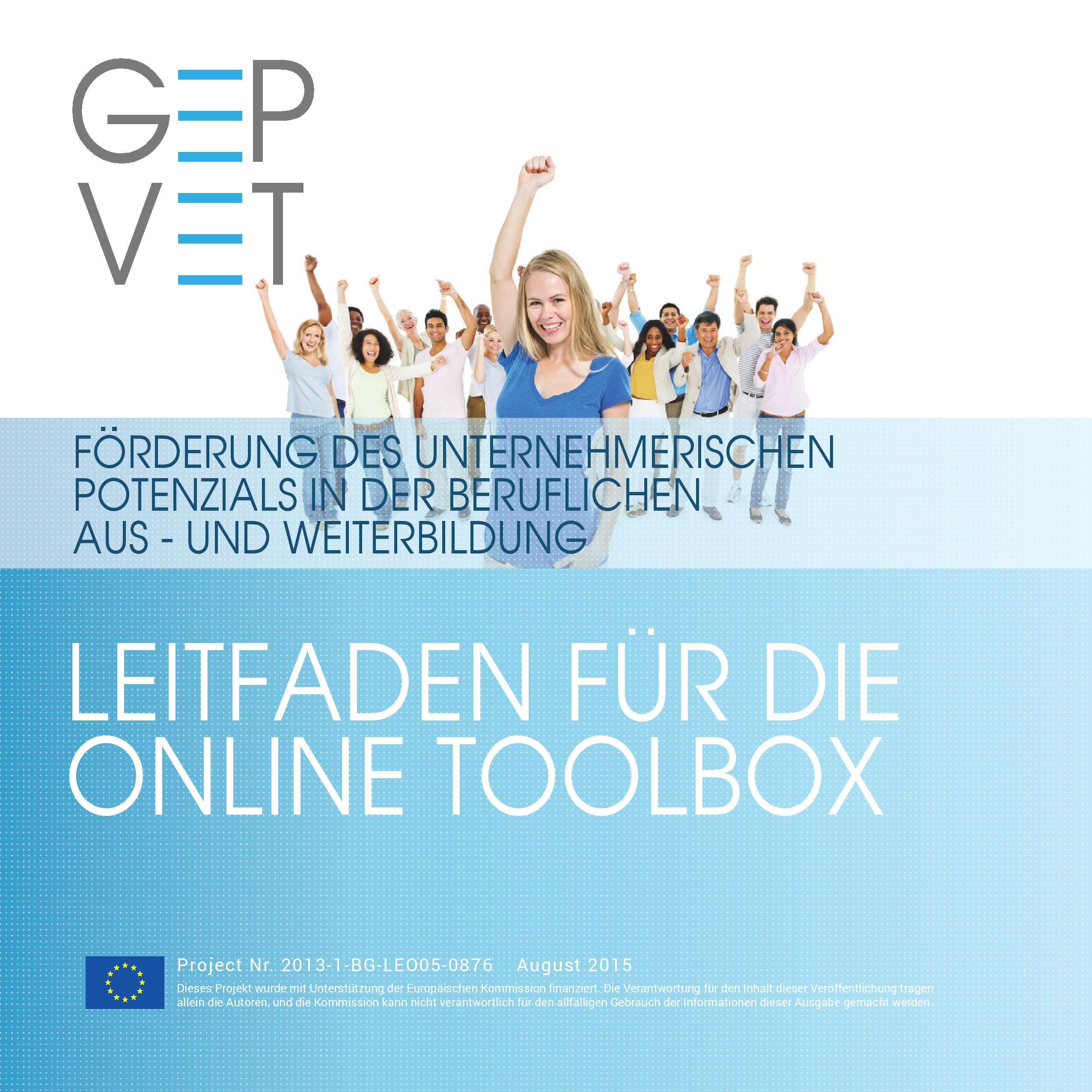 Leitfaden für die Online Toolbox